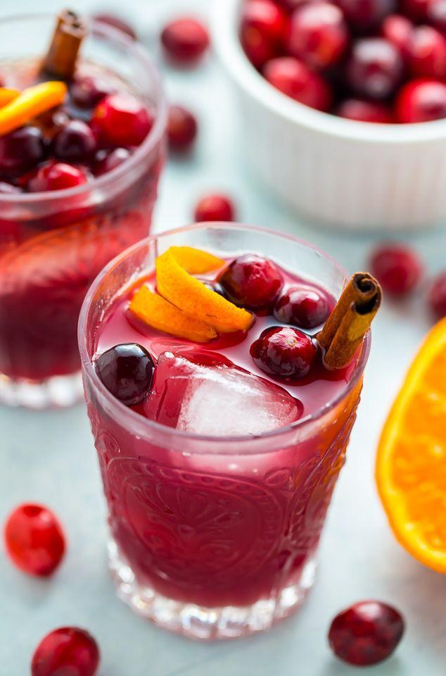 "<p>If the spices in this cocktail don't warm you up, the whiskey sure will.</p><p>Get the recipe from <a href=""http://bakerbynature.com/cranberry-cinnamon-whiskey-sour/"" rel=""nofollow noopener"" target=""_blank"" data-ylk=""slk:Baker By Nature"" class=""link rapid-noclick-resp"">Baker By Nature</a>.</p>"
