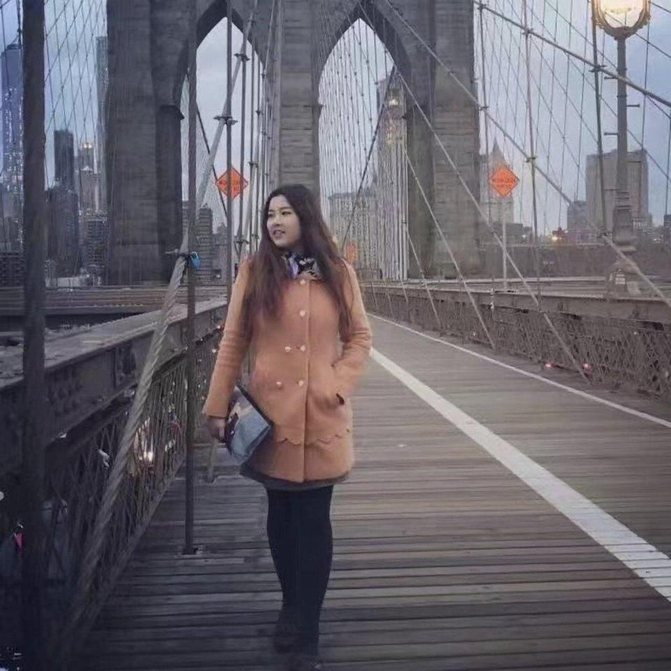 Sun Chenlu in New York, US. Photo: Handout