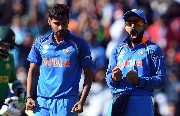 Bhuvi has gone at under 5 rpo in ODIs this year