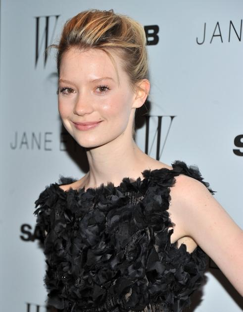 """Mia Wasikowska steps out at the New York premiere of """"Jane Eyre"""" at the Tribeca Grand Hotel Screening Room in New York City on March 9, 2011  -- Getty Images"""