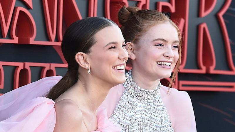 'Stranger Things' Millie Bobby Brown & Sadie Sink Singing 'Frozen' Is Our Favorite Thing Today