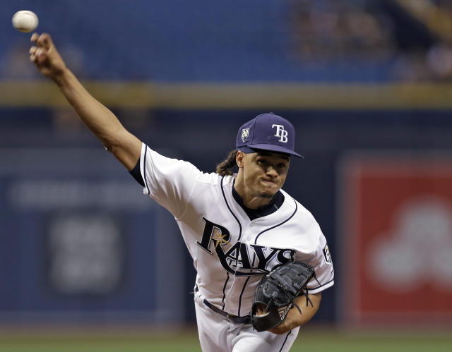 Starting pitcher Chris Archer was traded to the Pittsburgh Pirates on Tuesday. (AP)