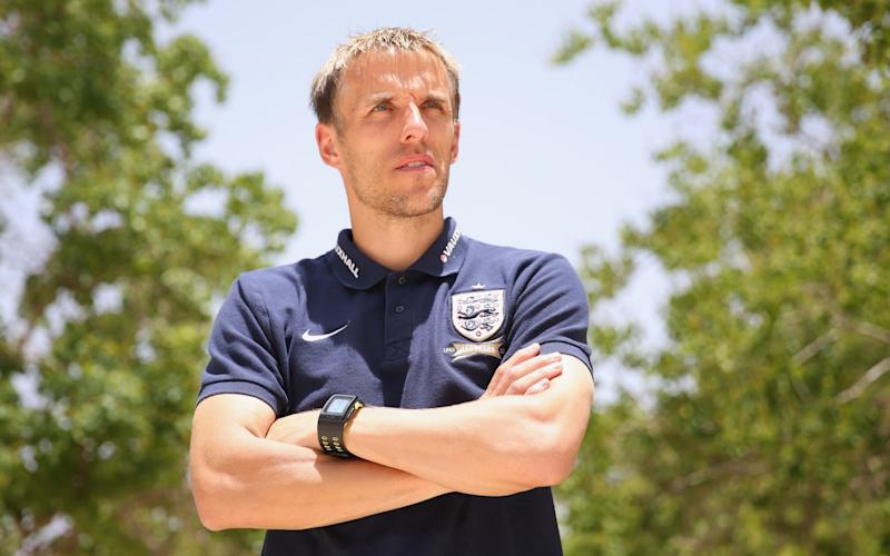 New job: Phil Neville has been appointed manager of England Women - Getty Images Europe