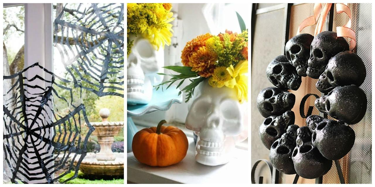 12 Easy Halloween Decorations That Started at the Dollar Store