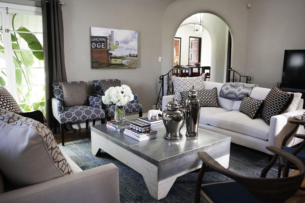 """<p>No need to shell out $100 for a decorative coffee table book at your local bookstore. Whether you're interested in fashion, cooking, travel, or high-art, pick up a few at the thrift store and achieve the <a href=""""https://www.elledecor.com/design-decorate/a20871729/maximalism-home-decor/"""" target=""""_blank"""">maximalism</a> look by stacking them on your coffee table or bookshelf. They typically sell for $5–$15.</p>"""