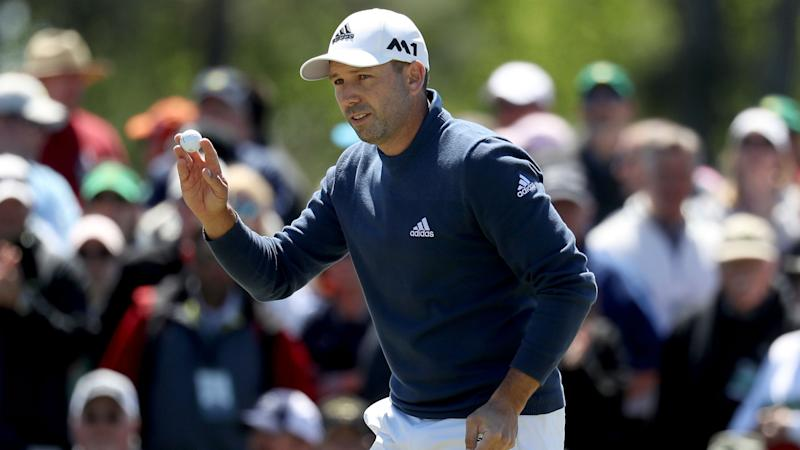Masters 2017: Sergio Garcia shakes off scoring issue to tie lead midway through Round 2