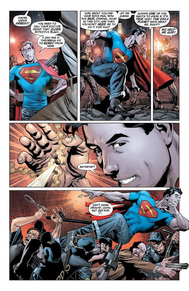Action Comics #1, page 9 © 2011 DC Entertainment