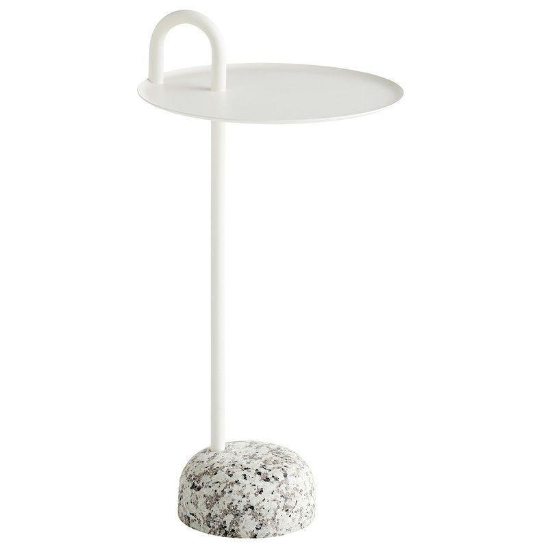 """<p>Smartly designed for when space is scarce, the compact granite base of this side table lends it reassuring stability, while the powder coated steel stem extends into a convenient handle for habitual room re-arrangers. £209, <a href=""""https://www.skandium.com/"""" rel=""""nofollow noopener"""" target=""""_blank"""" data-ylk=""""slk:skandium.com"""" class=""""link rapid-noclick-resp"""">skandium.com</a></p>"""