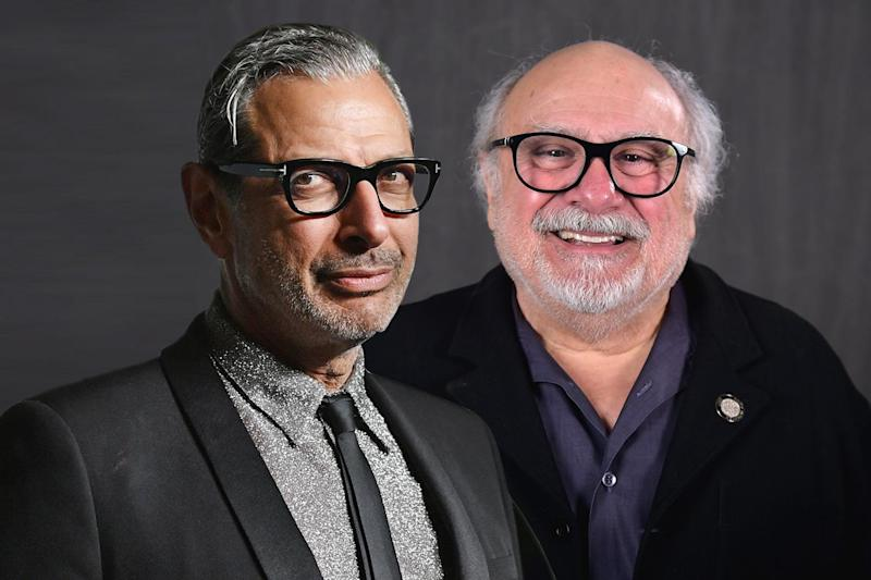 Comedy giants: Danny DeVito and Jeff Goldblum team up for new Amazon show: Gareth Richman/Getty Images
