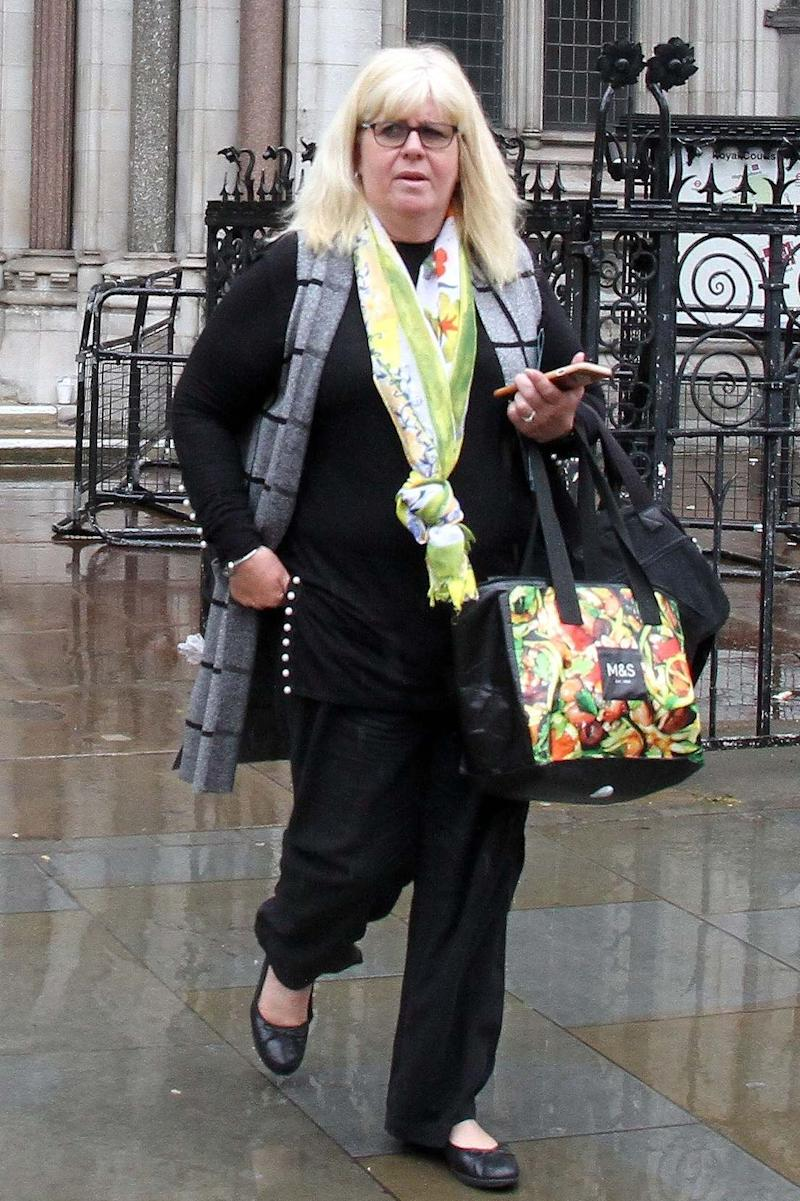 Jane Lazell outside Central London County Court (Champion News)
