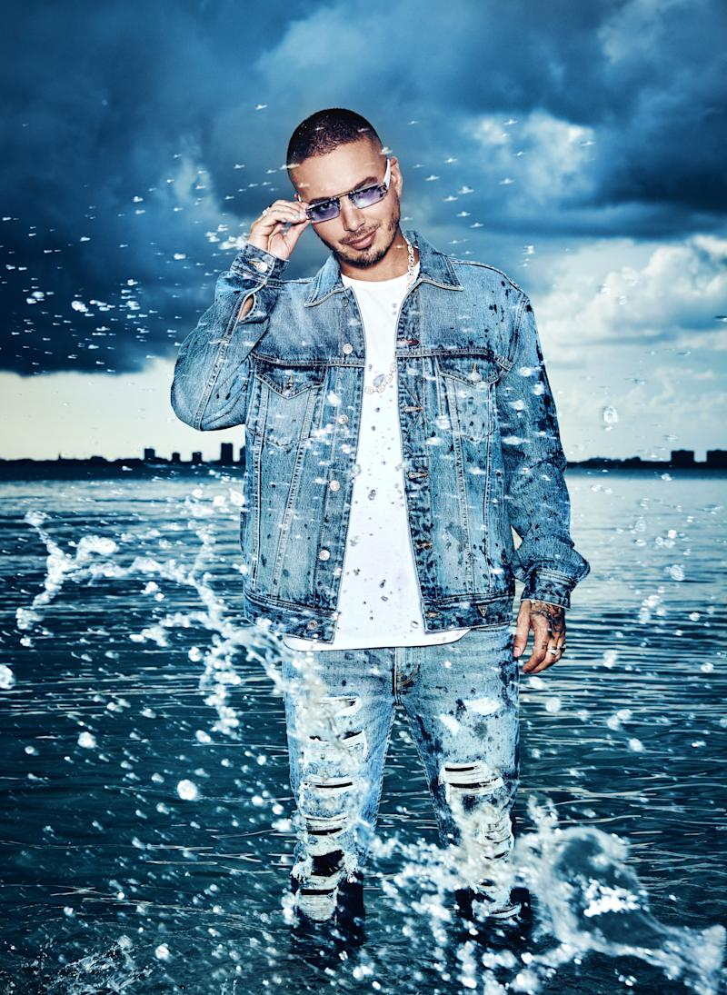 Announces Global Music Superstar J Balvin As Face Of Spring 2019 Guess Vi S Campaign