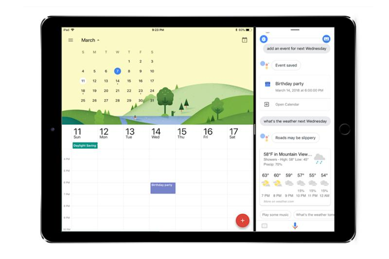 Google Assistant Rolled Out on Apple iPads