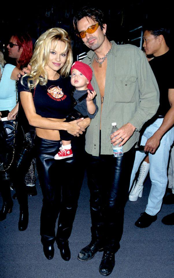 Pamela Anderson, Tommy Lee and Brandon in 1997. (Photo: S. Granitz/WireImage)