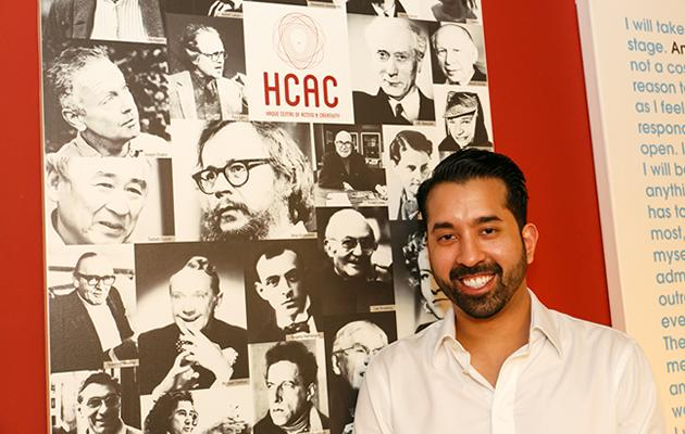 Kamil Haque, the founder of Haque Centre of Acting and Creativity. (Marc Chang photo)