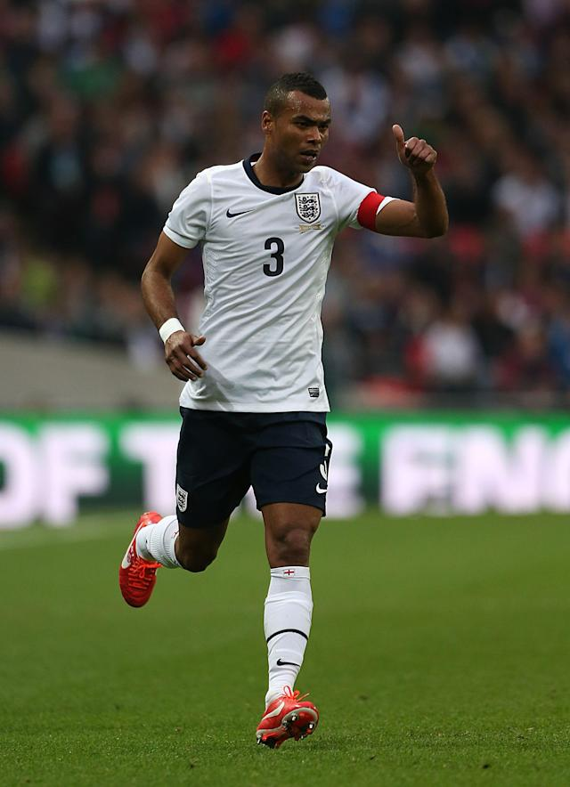 Cold oldie: Ashley Cole, who is still playing in America, is an England left-back great