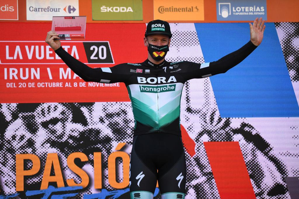 Ackermann promoted to first Vuelta a España victory after Bennett disqualification