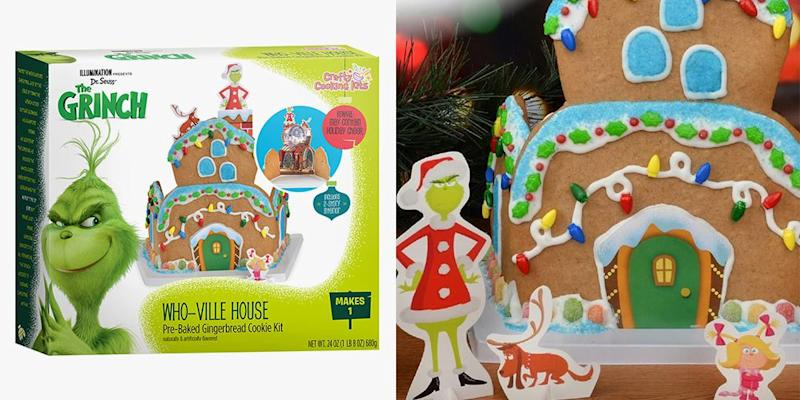 Build A Whoville Gingerbread House And Make The Grinch S Heart Grow