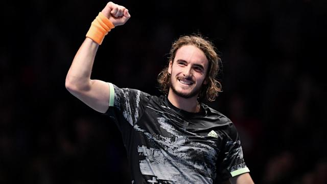 Defeating Roger Federer in the ATP Finals had Stefanos Tsitsipas acknowledging the scale of his achievement.