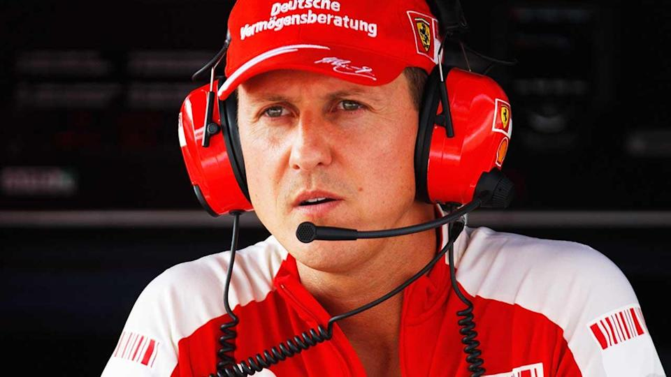 Michael Schumacher is reportedly 'not bed-ridden'. Pic: Getty