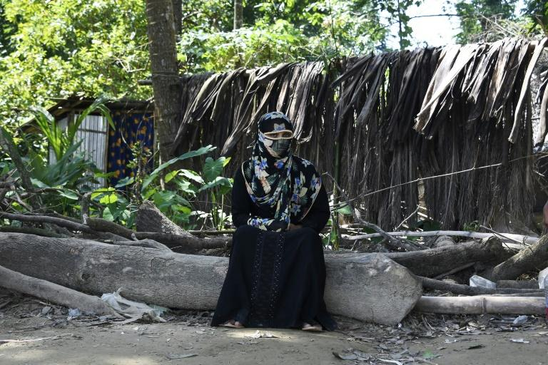 Shamila, a 25-year-old Rohingya refugee victim of rape, soldiers broke into her home in Myanmar and gang-raped her in front of her children