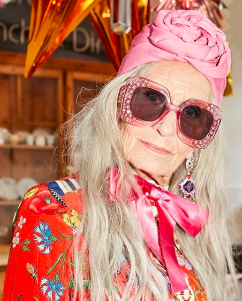 """<p>The 'world's oldest supermodel' <a rel=""""nofollow"""" href=""""https://www.instagram.com/daphneselfe/"""">Daphne Selfe</a> has appeared in campaigns for major fashion and beauty labels such as Dolce and Gabbana and Nivea. The 88-year-old is famed for her eclectic style and boundary-pushing aesthetic. <em>[Photo: Instagram]</em> </p>"""