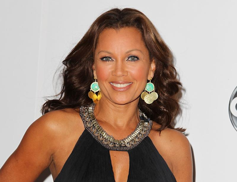 """FILE - This Sept. 24, 2012 file photo released by Starpix shows Vanessa Williams, a cast member in ABC's """"666 Park Avenue,"""" in New York. On Wednesday, Feb. 19, 2014, Williams announced after the matinee performance of """"After Midnight,"""" that she has signed up for a stint in the Broadway show celebrating Duke Ellington's years at the Cotton Club nightclub. She will start as a guest vocalist on April 1 and end May 11. (AP Photo/Starpix, Amanda Schwab, File)"""
