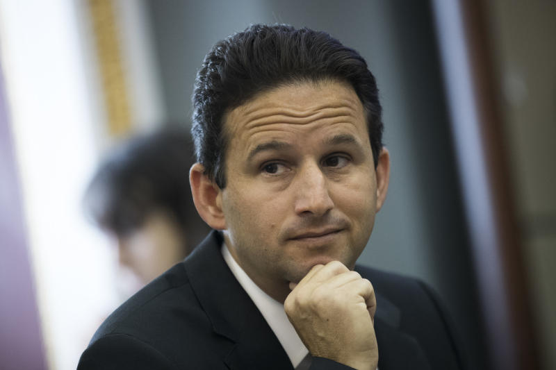 Sen. Brian Schatz (D-Hawaii) wants to give people buying private coverage on their own a chance to pay for a version of Medicaid instead. (Drew Angerer via Getty Images)