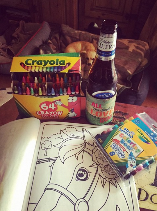 Coloring Book Artist Job : Kids hide your coloring books: a hot new adult pastime