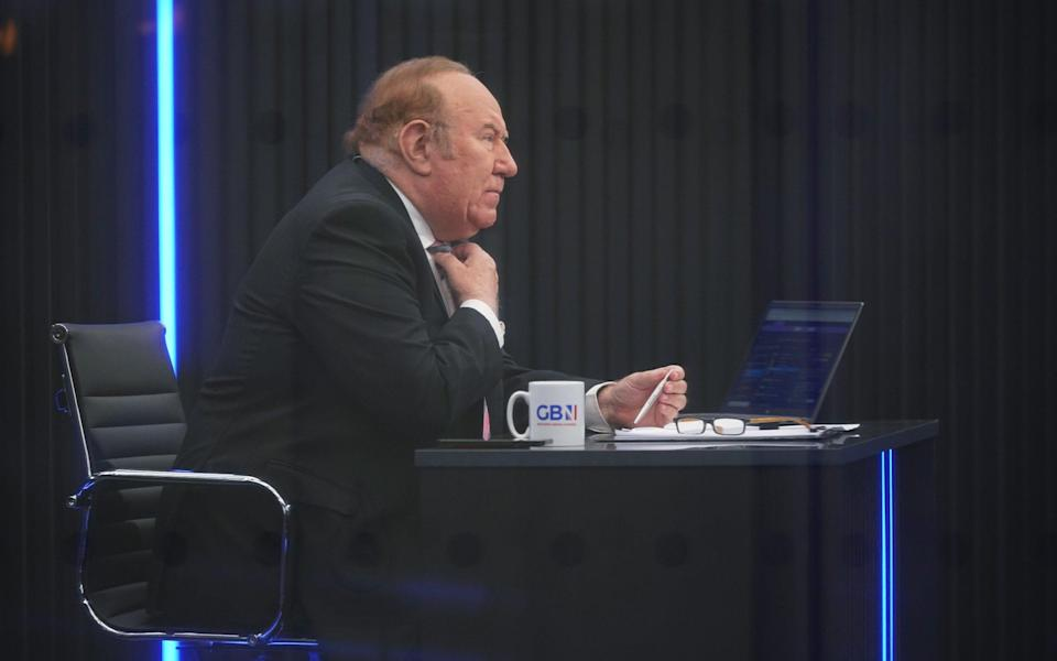 Andrew Neil presented only eight shows for GB News before quitting on Monday - PA