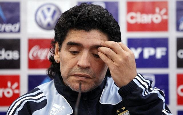 Maradona went on to manage Argentina but was not successful