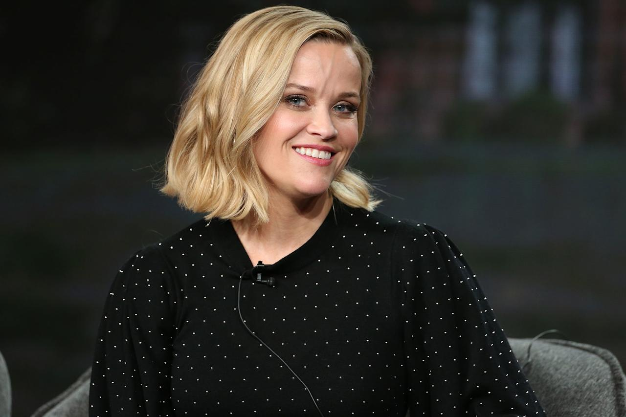 Reese Witherspoon talked about her upcoming Hulu series <em>Little Fires Everywhere</em> during the TCA Winter Press Tour in Los Angeles.