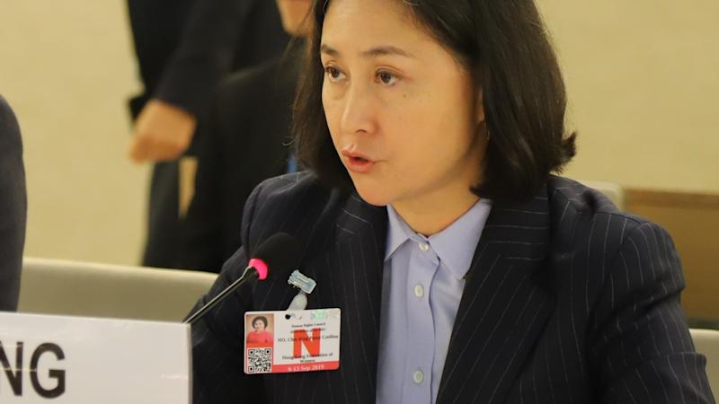 Striking Hong Kong students 'indoctrinated with police hatred', Casino queen Pansy Ho tells United Nations in Geneva