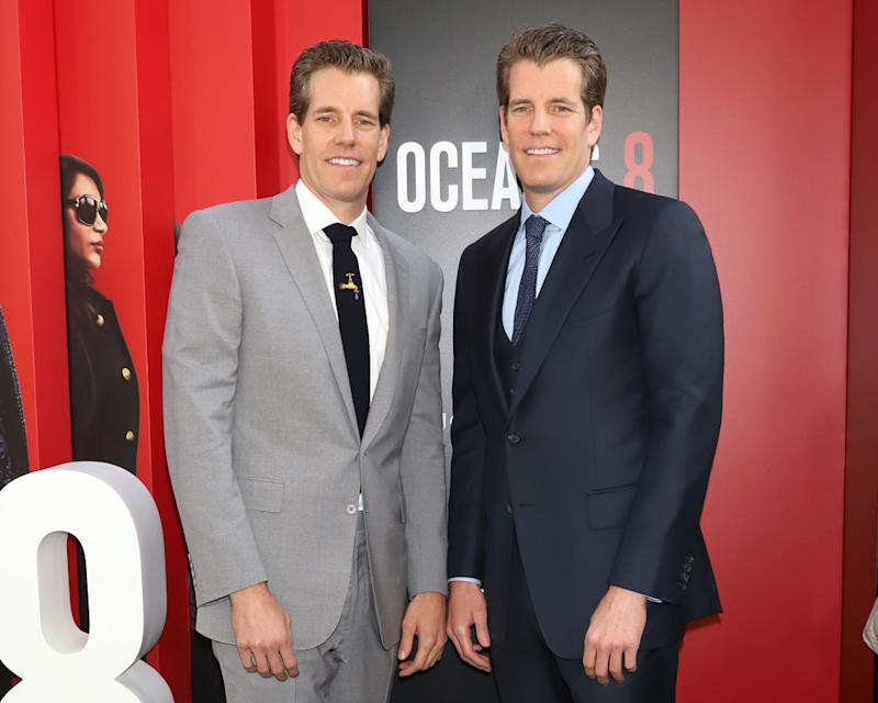 Cameron and Tyler Winklevoss Bitcoin Cryptocurrency Gemini