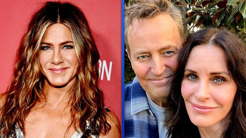 Courteney Cox reunites with Matthew Perry