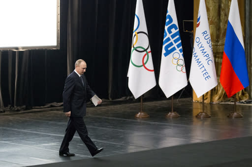 Russia was not banned from the Rio Olympics. (AP)