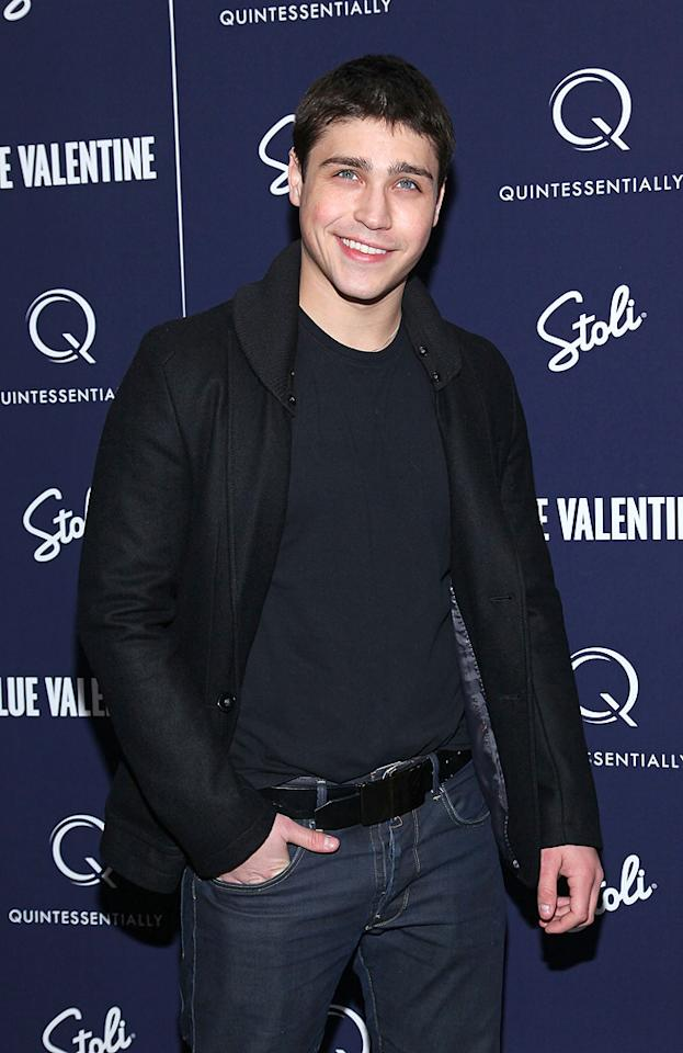 "Logan Huffman attends the New York premiere of <a href=""http://movies.yahoo.com/movie/1809945752/info"">Blue Valentine</a> on December 7, 2010."