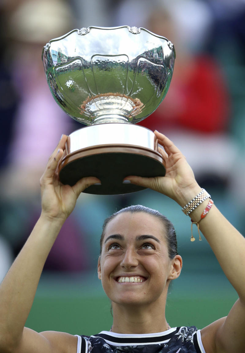 Garcia outlasts Vekic to win Nottingham Open