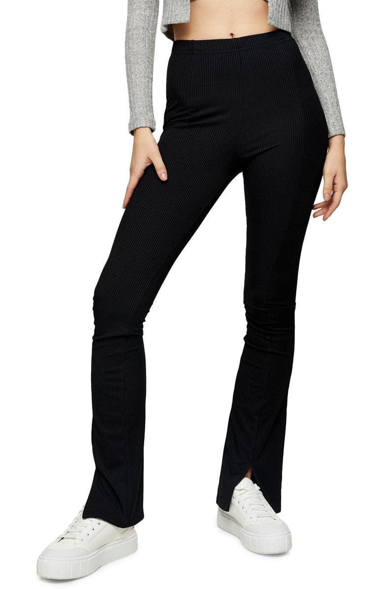 <p>These comfy <span>Topshop Flare Trousers</span> ($45) will have you ready to trade in your sweatpants.</p>