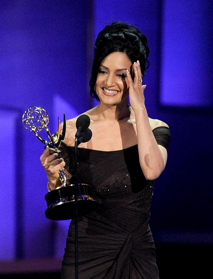 "<b>BEST: Archie Panjabi Wins</b><br> ""The Good Wife"" is her first American series and she quickly established herself in the first season as one of the key players in the show's success. That she won the Supporting Actress Emmy for Drama on the first nomination is pretty awesome.<br><br>  <a href=""http://www.televisionwithoutpity.com/show/emmy_awards/emmy_awards_2010_best_and_wors.php?__source=tw