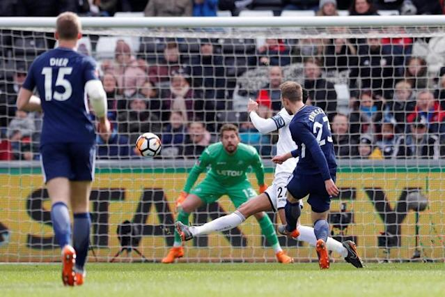 Swansea City vs Tottenham LIVE latest score: FA Cup 2017-18 goal updates, TV and how to follow online, team news and line-ups at the Liberty Stadium