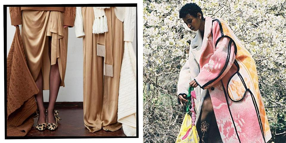 """<p>There was a time when 'sustainable clothing' would conjure images of unflattering and suspiciously scratchy styles. Thankfully, there are now a number of brands (and <a href=""""https://www.elle.com/uk/fashion/what-to-wear/news/g32727/instagrams-best-vintage-shops-the-easy-way-to-shop-second-hand/"""" rel=""""nofollow noopener"""" target=""""_blank"""" data-ylk=""""slk:vintage shops"""" class=""""link rapid-noclick-resp"""">vintage shops</a>) challenging that view.<br></p><p>When it comes to online shopping, there are <a href=""""https://www.elle.com/uk/fashion/a26109183/sustainable-style-tips-from-the-influencers-that-know-best/"""" rel=""""nofollow noopener"""" target=""""_blank"""" data-ylk=""""slk:tips we can take on board"""" class=""""link rapid-noclick-resp"""">tips we can take on board</a> when trying to make our wardrobes more planet-friendly, whether it's organising clothes swaps with friends or investing in timeless, transitional pieces. There are also a number of high street initiatives that allow us to recycle our well-loved clothes when we're ready to part with them (like H&M's green boxes, and <a href=""""https://www.elle.com/uk/fashion/a28717953/gannis-first-uk-store-hits-london-an-instagrammable-flagship-in-soho/"""" rel=""""nofollow noopener"""" target=""""_blank"""" data-ylk=""""slk:Ganni's"""" class=""""link rapid-noclick-resp"""">Ganni's</a> 'take back' scheme). </p><p>When you want to invest in new pieces, there are many brands taking steps to minimise the industry's carbon footprint and implement ethical practices too - all without compromising on style.<br></p><p>Here are <strong>47 sustainable brands</strong> to consider investing in. Happy shopping (and when you're done with your old pieces, think about sharing the love by putting them on eBay or Depop).</p>"""