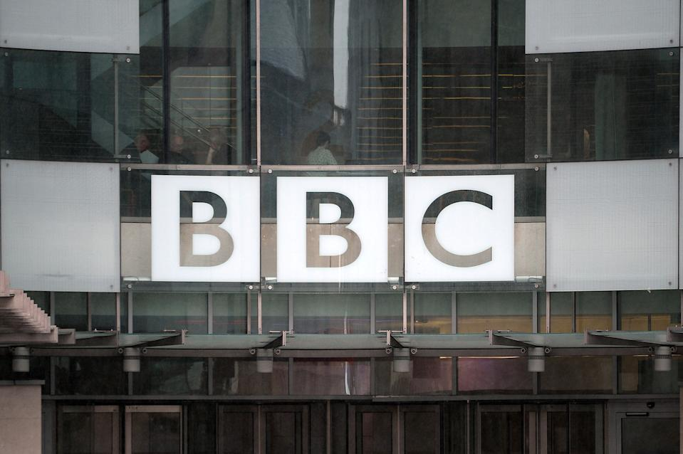 """File photo dated 11/05/16 of the BBC logo. The BBC has said that an introduction to Newsnight, which discussed the Dominic Cummings lockdown row, """"did not meet our standards of due impartiality""""."""