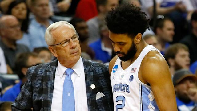 The Tar Heels announced Monday that the senior guard will be sidelined about four weeks with a broken hand.