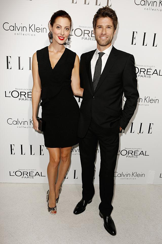 BEVERLY HILLS, CA - OCTOBER 15: (L-R) Actress Eva Amurri and Kyle Martino arrive at ELLE's 19th Annual Women In Hollywood Celebration at the Four Seasons Hotel on October 15, 2012 in Beverly Hills, California. (Photo by Jeff Vespa/WireImage)