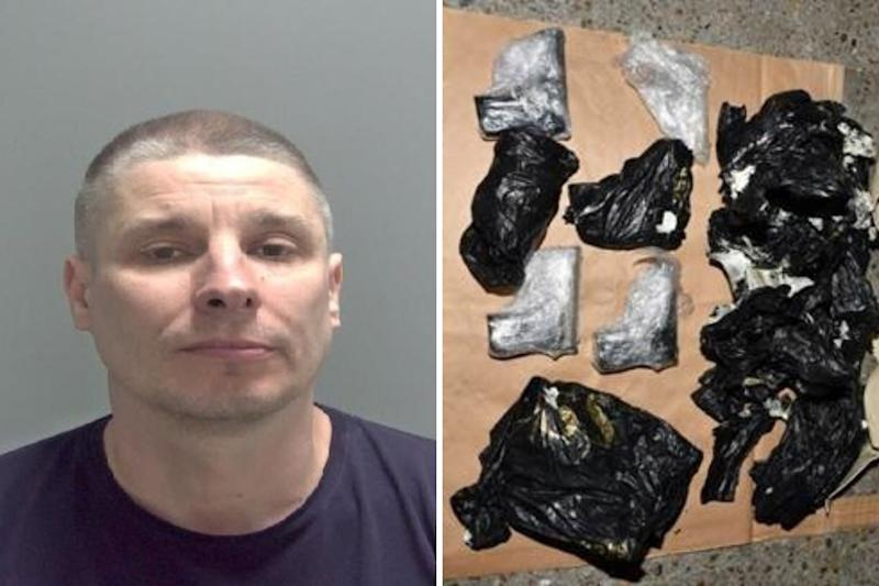 Jurijs Ragozins, 44, who has been jailed for life after being caught with 44 weapons after offering them for sale to an undercover police officer