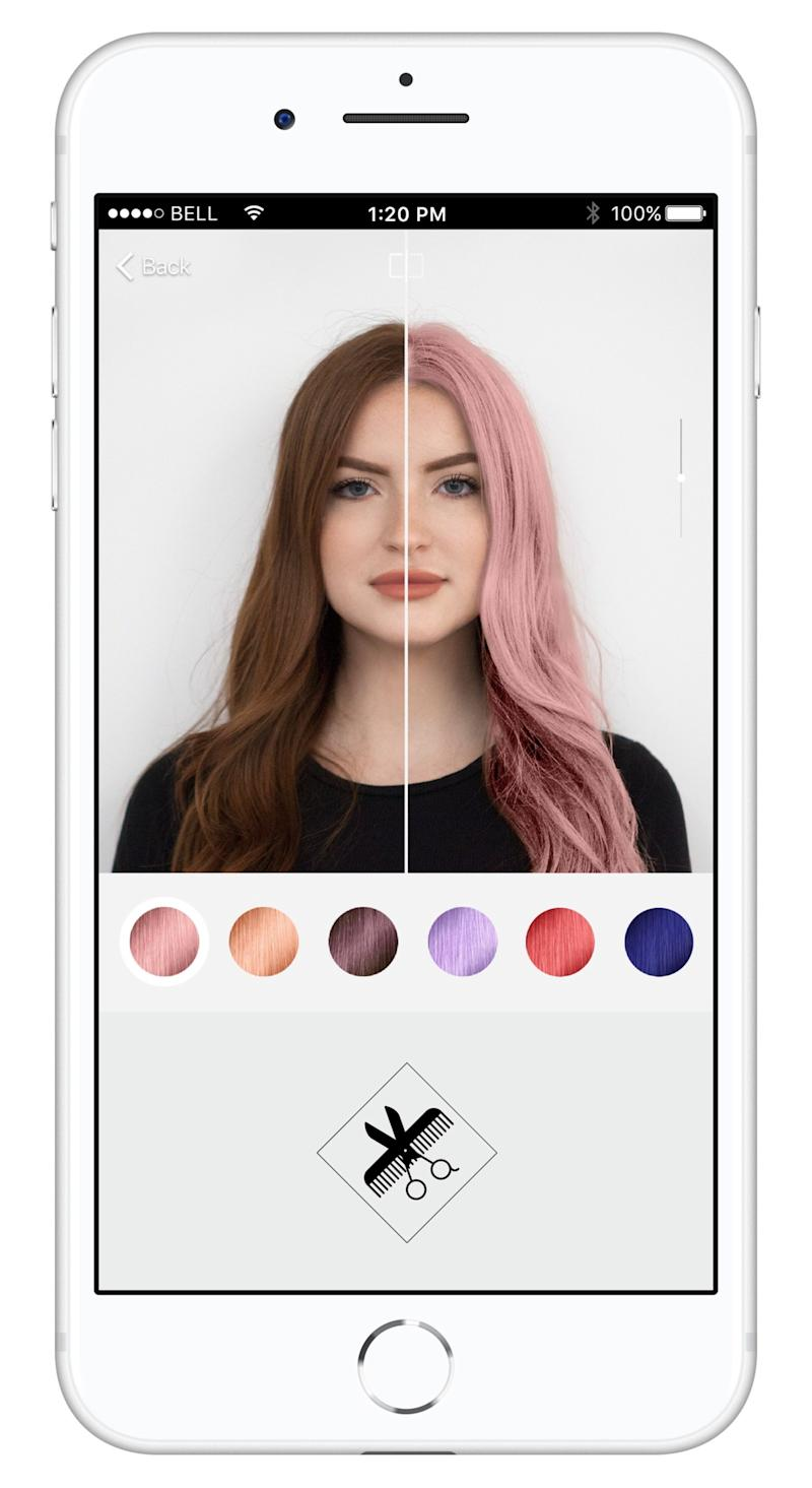 Virtually Test Out Your Next Hair Color With Loral Professionnels