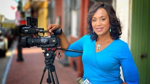 PHOTO: Nancy Parker worked at New Orleans Fox affiliate WVUE for 23 years. She was killed in a plane crash while filming a piece on Friday, Aug. 16, 2019. (Jim Pennison/WVUE)