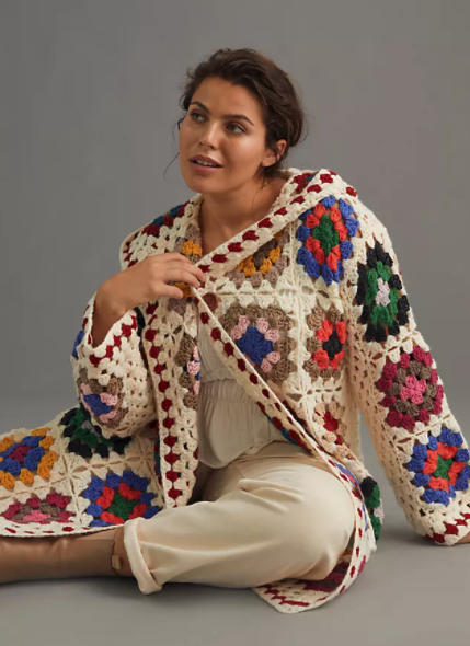"""<h2>The Crochet Cardigan</h2><br>Considering celebs like <a href=""""https://www.refinery29.com/en-us/2021/06/10521330/katie-holmes-crochet-top-mango"""" rel=""""nofollow noopener"""" target=""""_blank"""" data-ylk=""""slk:Katie Holmes"""" class=""""link rapid-noclick-resp"""">Katie Holmes</a> and <a href=""""https://www.refinery29.com/en-us/2021/06/10511086/gigi-hadid-crochet-top-mango"""" rel=""""nofollow noopener"""" target=""""_blank"""" data-ylk=""""slk:Gigi Hadid"""" class=""""link rapid-noclick-resp"""">Gigi Hadid</a> are among the many style stars rocking knitted tops over the summer, it's safe to say this crafty trend will only get bigger in the fall. <br><br><strong>Anthropologie</strong> Cozy Crochet Cardigan, $, available at <a href=""""https://go.skimresources.com/?id=30283X879131&url=https%3A%2F%2Fwww.anthropologie.com%2Fshop%2Fcozy-crochet-cardigan%3Fcolor%3D011%26type%3DPLUS"""" rel=""""nofollow noopener"""" target=""""_blank"""" data-ylk=""""slk:Anthropologie"""" class=""""link rapid-noclick-resp"""">Anthropologie</a>"""