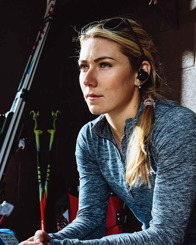 <p>mikaelashiffrin: Protect your peaceful moments. #TeamBose #StayZen #Ad (Photo via Instagram/mikaelashiffrin) </p>