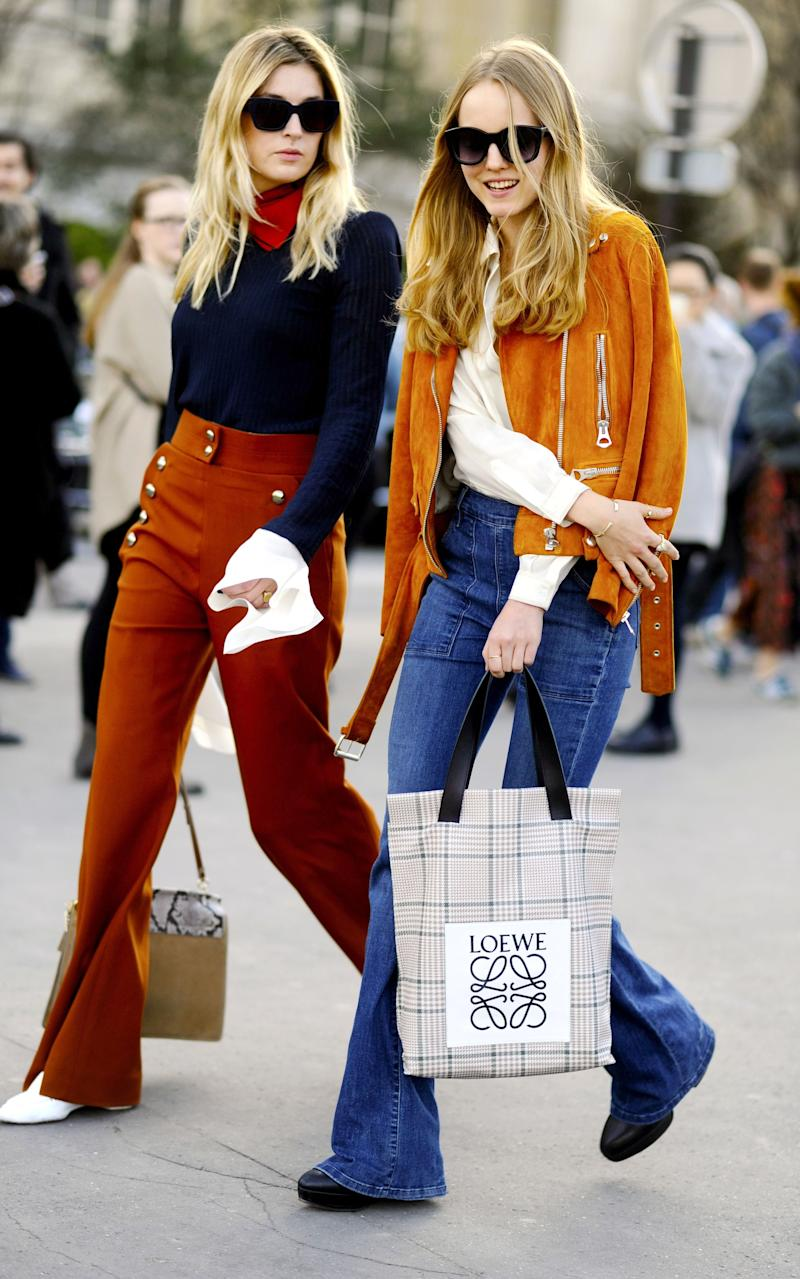 Camille Charriere and Alexandra Carl  - Credit: Rex
